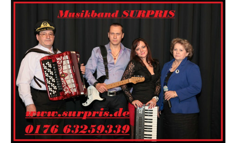 musik band surpris russische hochzeitsband pforzheim. Black Bedroom Furniture Sets. Home Design Ideas